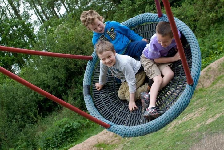 Basket swing at Dorridge Park Solihull 2