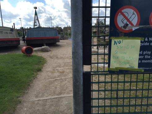 fence notice